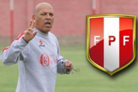 ¡Confirmado! Roberto Mosquera dirigirá a la selección peruana