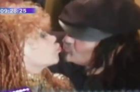 Tigresa del Oriente y hermano del presidente de Chile se besan - Video