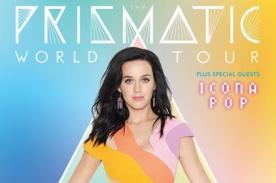 Katy Perry anunció y reveló fechas de su gira mundial 'The Prismatic World Tour'