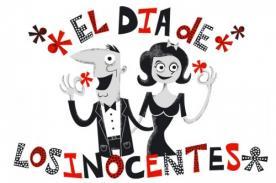 ¿Cuando es el Día de los Inocentes en Perú?
