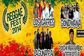 Reggae fest 2014: Obtén descuento por la compra de tu entrada