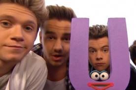 Video: One Direction en Plaza Sésamo cantando 'What Makes U Useful'