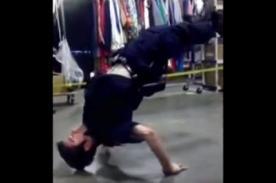 Estados Unidos: Policía reta a bailarín de street dancer - Video