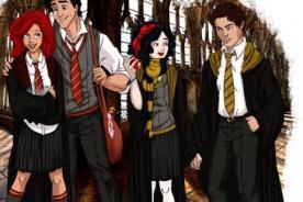 Artista diseña a personajes de Disney como estudiantes de Hogwarts