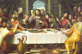 Semana Santa 2014: ¿Qué recordamos el jueves santo?