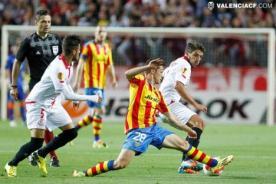 Europa League: Valencia goleó 3-1 pero Sevilla pasó a la gran final