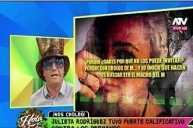 Metiche tiene las peores palabras para Julieta Rodríguez con toda su indignación