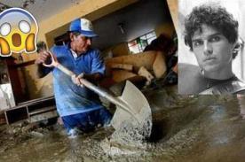 Pedro Suárez Vertiz y el mejor mensaje solidario por corte de agua - FOTO