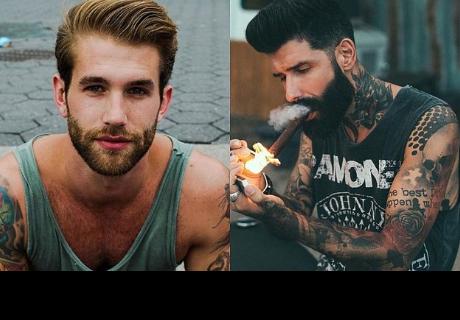 ¿Porqué nos gustan los chicos con 'tatuajes y barba'?