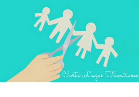 Cuando llegamos al punto donde cortar lazos familiares es saludable.