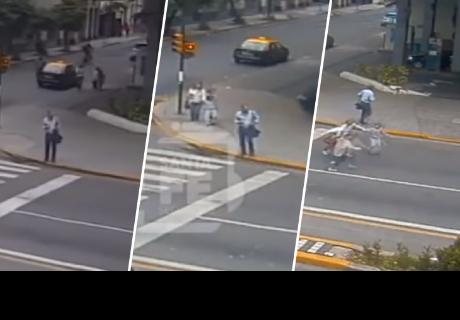 Madre hace heroico acto para salvar a sus hijos y cibernautas quedan impactados