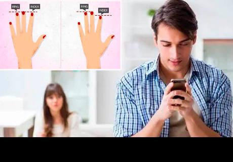 Conoce si tu pareja te será infiel con tan solo mirar sus dedos