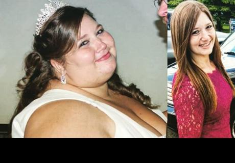 Instagram: Mujer pierde 138 kilos junto a su esposo y lo festeja así
