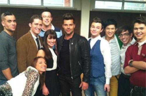 Ricky Martin sobre Glee: Fue una experiencia maravillosa
