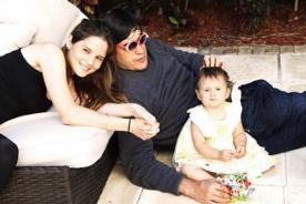 Jaime Bayly y Silvia Núñez felices en el primer año de su hija