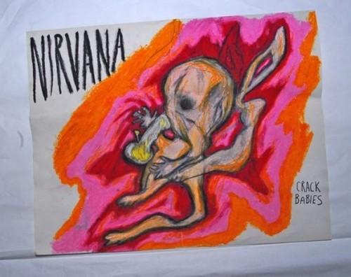 Fotos: Kurt Cobain y sus cuadros nunca antes vistos