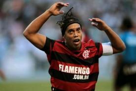 Ronaldinho Gaucho llegó borracho a los entrenamientos del Flamengo