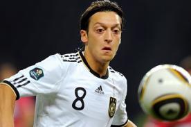 Mesut Ozil: Si Alemania queda segundo en la Eurocopa será un fracaso