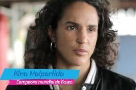Juegos Olímpicos: Kina Malpartida opinó sobre su relevo de antorcha (Video)