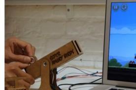 Crean mando USB para jugar Angry Birds - Video