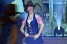 El Gran Show 2012: Valia Barak bailó al ritmo de country - Video