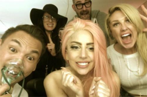 Lady Gaga celebra la reelección de Barack Obama