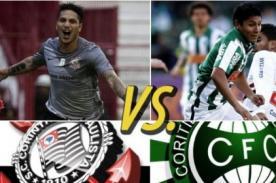 Corinthians vs Coritiba (5-1) en vivo - Brasileirao