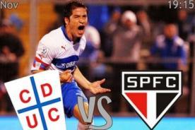 Goles del U. Católica vs Sao Paulo (1-1) - Copa Sudamericana - Video