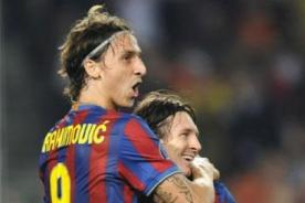 Suecia vs Argentina: Messi y Zlatan Ibrahimovic se reencuentran - Video