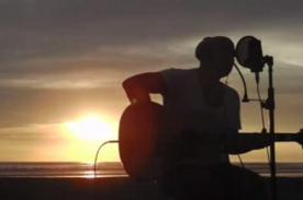 Gian Marco grabó videoclip acústico de 'Tú y Yo' en la playa - Video