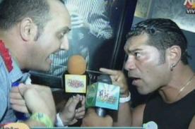 Carlos 'Tomate' Barraza casi se va a las manos con 'Metiche' - Video