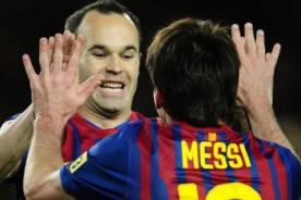 Andrés Iniesta: En este equipo hay 'Messidependencia', pero todos sumamos