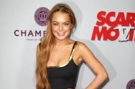 Lindsay Lohan se luce en la premiere de Scary Movie 5 - Fotos