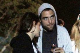Robert Pattinson cogió el trasero a Kristen Stewart en público