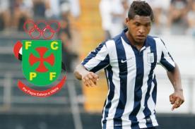 Gino Guerrero es nuevo jugador del Pacos Ferreira