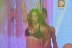 Melissa Loza regala sensual y atrevido 'baile del tubo' - Video