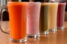 Conoce cuatro bebidas que te ayudarán a bajar de peso rápido