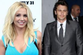 Britney Spears propone a James Franco para 50 Sombras de Grey