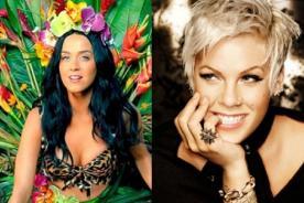 Katy Perry y Pink actuarán en los Grammy Awards 2014