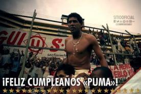 Universitario saluda a Jose Luis Carranza por su cumpleaños número 50