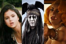 Razzie 2014: Selena Gomez, Johnny Depp y Lady Gaga entre los nominados