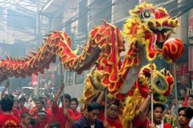 Año Nuevo Chino 2014: Danza del Dragón comienza celebraciones del Año Nuevo
