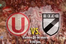 Noche crema: Universitario de Deportes vs Danubio - Minuto a minuto