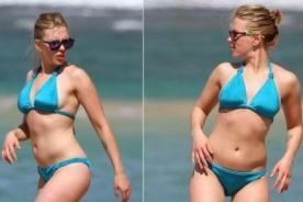 Scarlett Johansson es blanco de burlas por usar photoshop