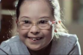 Emotivo mensaje de niños con síndrome de Down a futuras madres - VIDEO