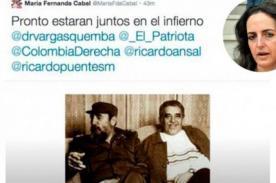 Colombia: Congresista le desea el infierno a Gabriel García Márquez