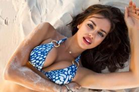 Semana Santa: Irina Shayk se vistió como sexy conejita de Pascua - FOTO