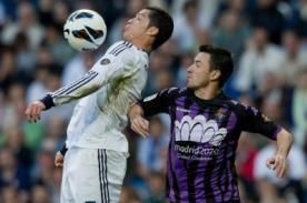 Liga BBVA en vivo: Minuto a minuto Real Madrid vs. Valladolid (1-1) por DirecTV