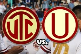 Copa Inca 2014: Universitario empata con UTC (1-1) - Video