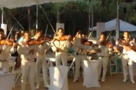 Insólito: Canción de Mario Bros al estilo mariachi - Video